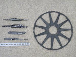 レピア織機部品類 Rapier loom parts